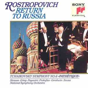 Mstislav Rostropovich, National Symphony Orchestra - Return to Russia download free